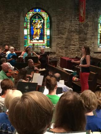 Jennifer Berroth, Choral Training with Summer Singers of Kansas City