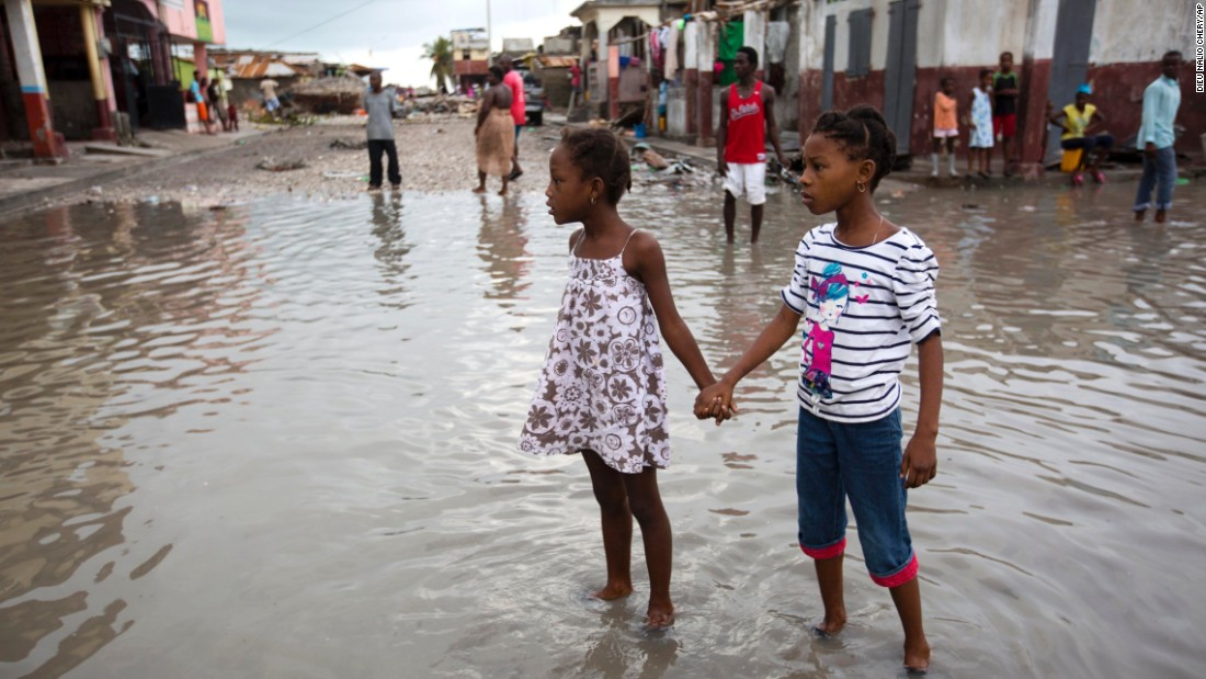 White power to blame for devastation in Haiti after Hurricane Matthew