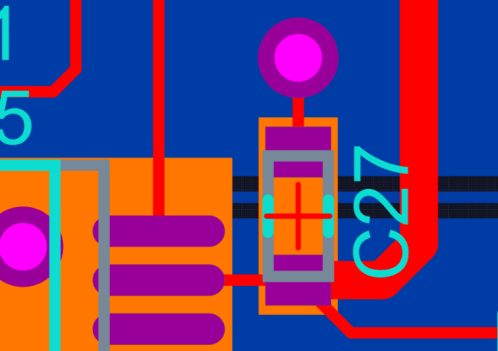 PCB layout decoupling
