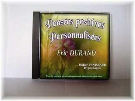 CD de Pensées Positives personnalisées