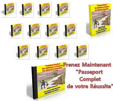 Le programme Passeport complet pour la réussite est un séminaire pour vous aider à atteindre vos objectifs personnels