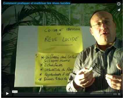 Dans cette vidéo Didier Pénissard nous présente les aspects des dernières recherches sur les rêves lucides