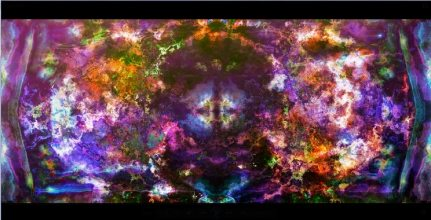 Images subliminales associées à des musiques new age pour influencer son subconscient de pensées positives