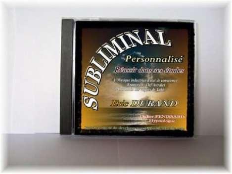 La réalisation d'un CD subliminal personnalisé permet de communiquer directement avec son subconscient
