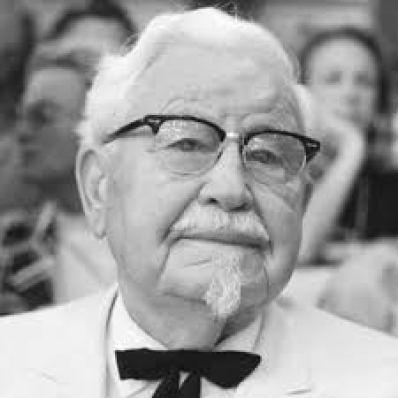 Le Colonel Sanders est sans doute un homme le plus persévérant qui soit