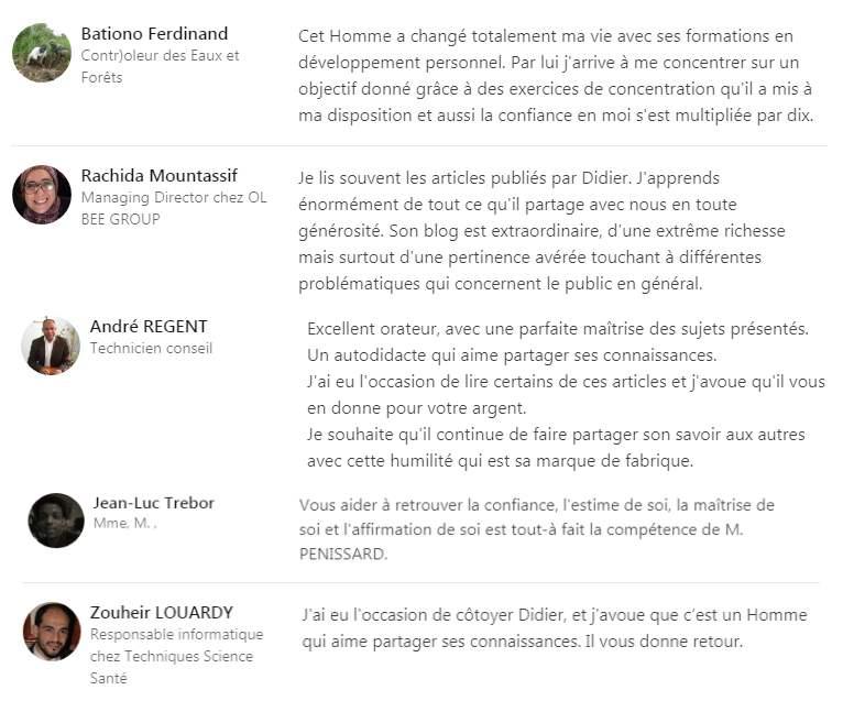 Didier Pénissard avis