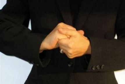 Comprendre les gestes des mains