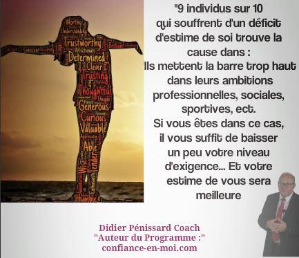 Coaching estime de soi