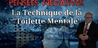 toilette mentale et pensées négatives