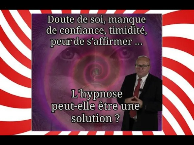 timidité hypnose solution