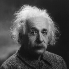 photo d'Albert Einstein