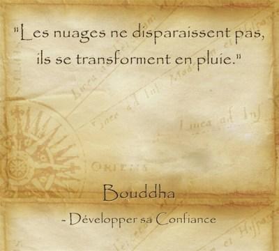Citation de Bouddha pour croire en l'avenir