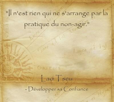 Citation de Lao Tseu pour agir