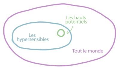 Schéma hypersensibilité & zèbre