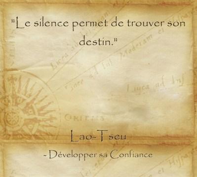 citation de Lao Tseu sur le pouvoir de la concentration