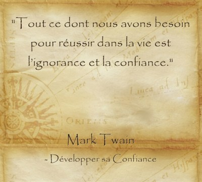 citation de Mark Twain sur le sens de la vie