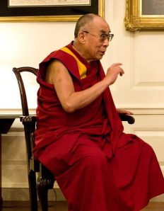 Photo du moine Dalaï Lama