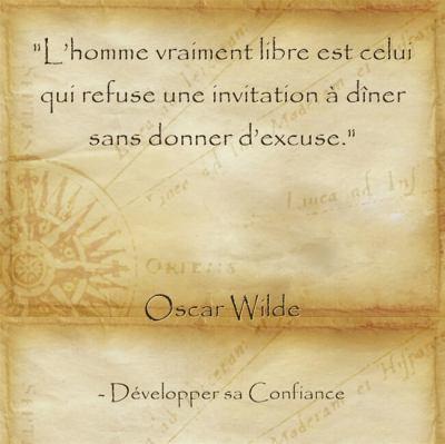 Citation d'Oscar Wilde sur l'importance de s'accepter tel qu'on est