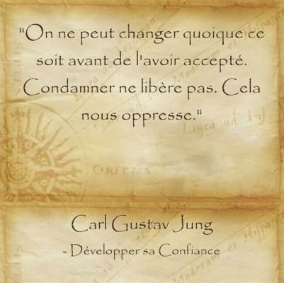 citation de Carl Jung sur les raisons de sortir de sa zone de confort
