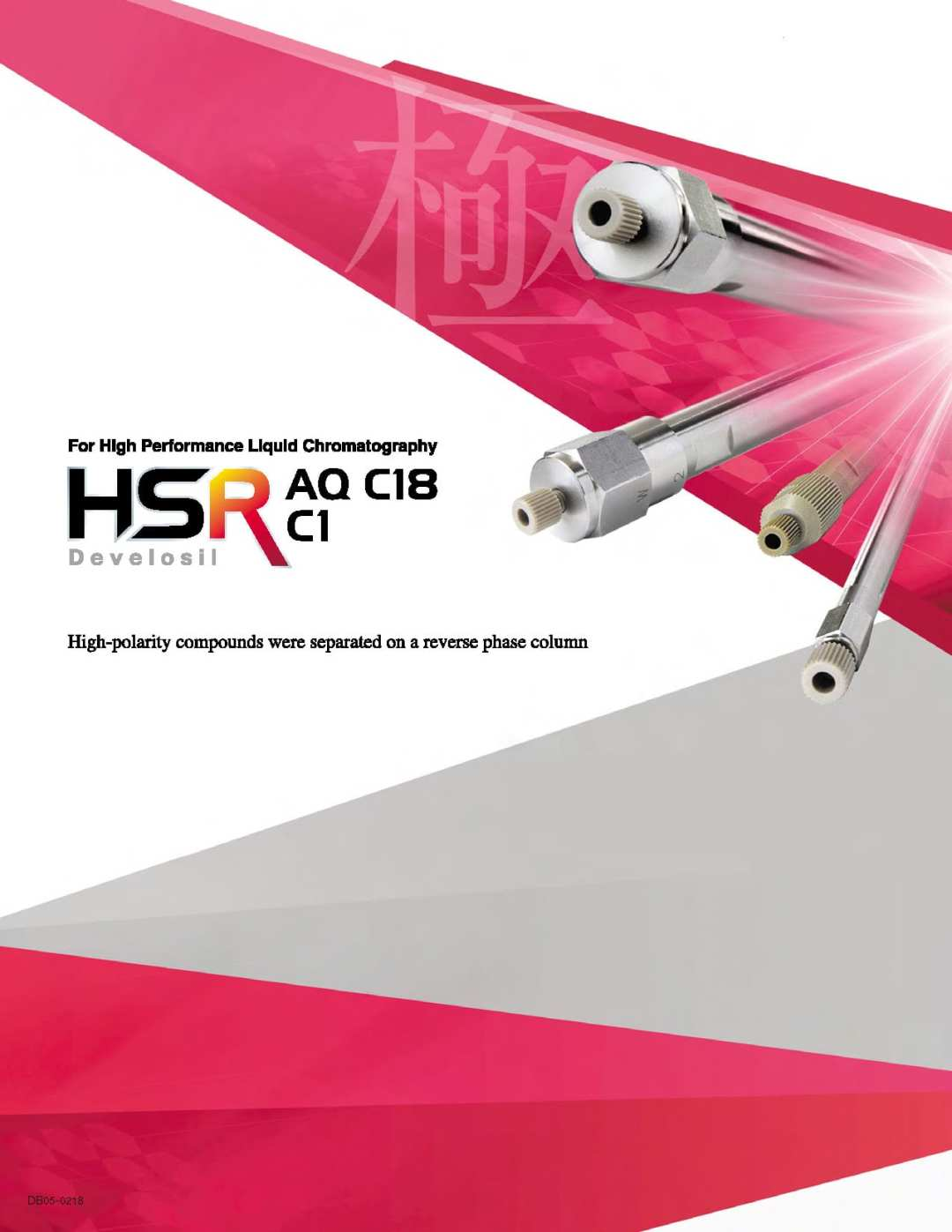 Develosil HSR AQ C18, C1 Product Brochure