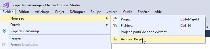Programmer cartes arduino Visual Studio.