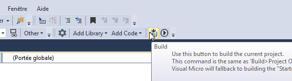Programmer cartes arduino Visual Studio.