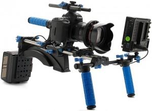 Un exemple d'accessoires pour un tournage avec un 5D Mark 2