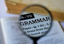 Grammaire à l'école internationale Malherbe