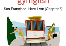 Extrait de l'application Gymglish pour apprendre l'anglais