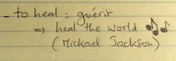 Exemple de carnet de notes pour améliorer son anglais