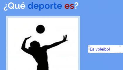 Exemple d'exercice en ligne réalisé par l'enfant