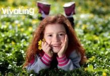 Image de VivaLing, petite fille souriante