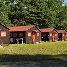 Les dortoirs du camp d'été francophone Tekakwitha