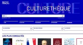 Culturetheque, une bibliothèque numérique pour les adhérents des établissements du réseau culturel français (Alliances françaises et Instituts français)
