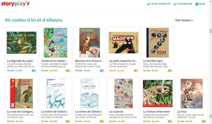 Storyplayr, une bibliothèque numérique de livres en français pour enfant