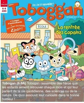 Toboggan, un magazine pour les 6-9 ans
