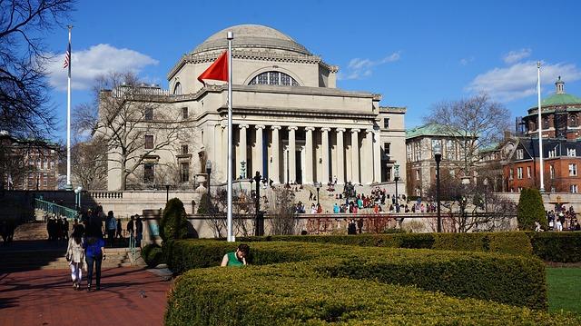 Intégrer une université comme Columbia (ici le campus)