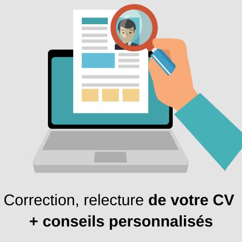correction CV Suisse
