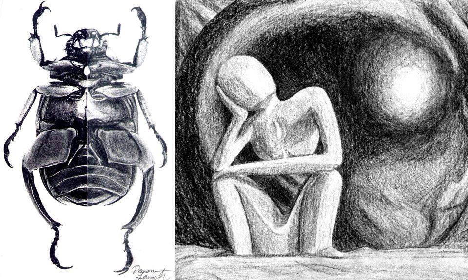 pencil drawings by deven langston