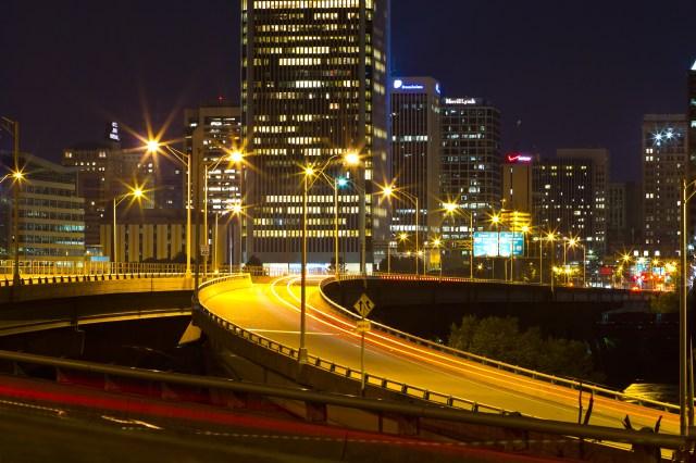 big building bridge glam glitz
