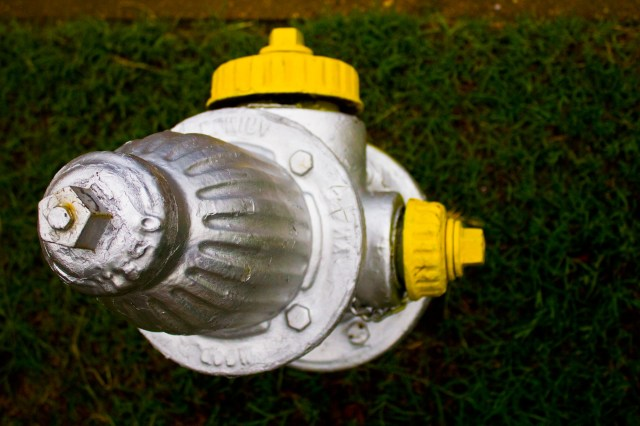 hydrant for water distribution