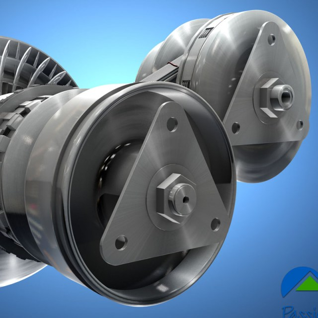continuously variable transmission 3D