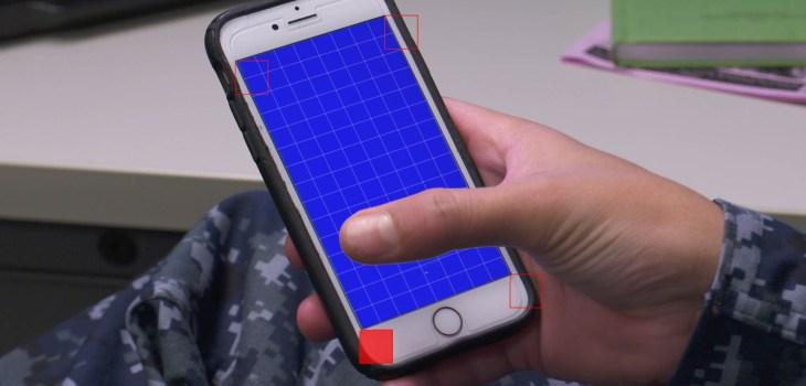 screen replacement iphone bluescreen