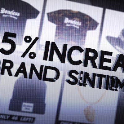 increase in brand sentiment