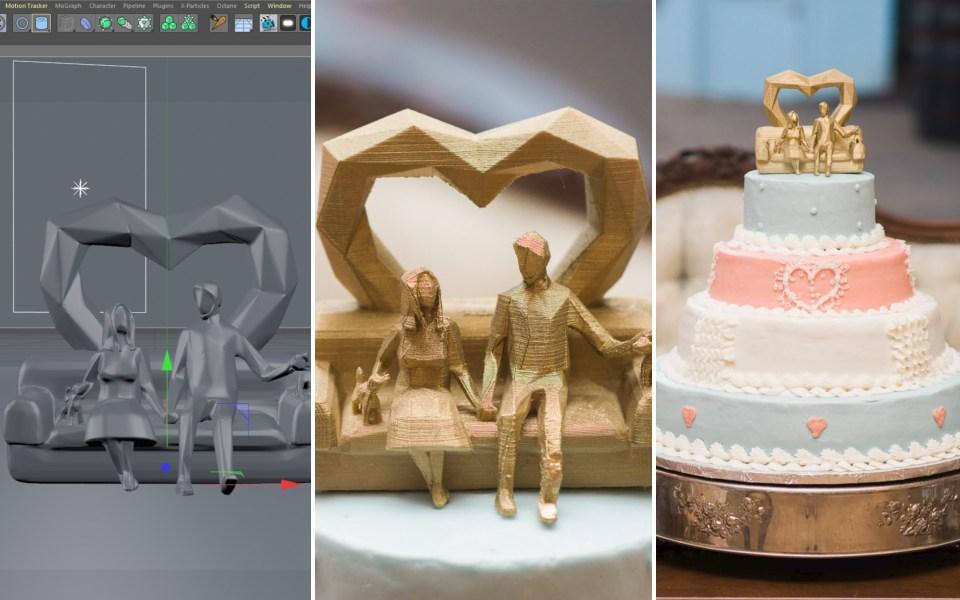 wedding cake 3d print