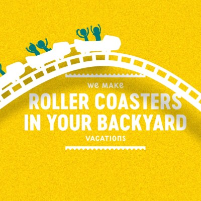 roller coasters in your back yard