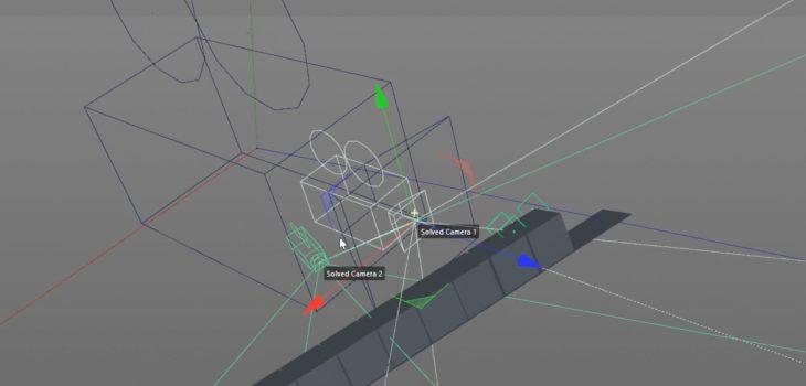 combine 3d tracked cmameras tutorial