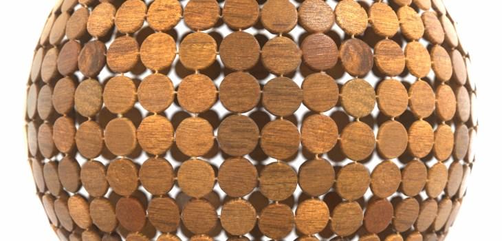wooden discs texture preview