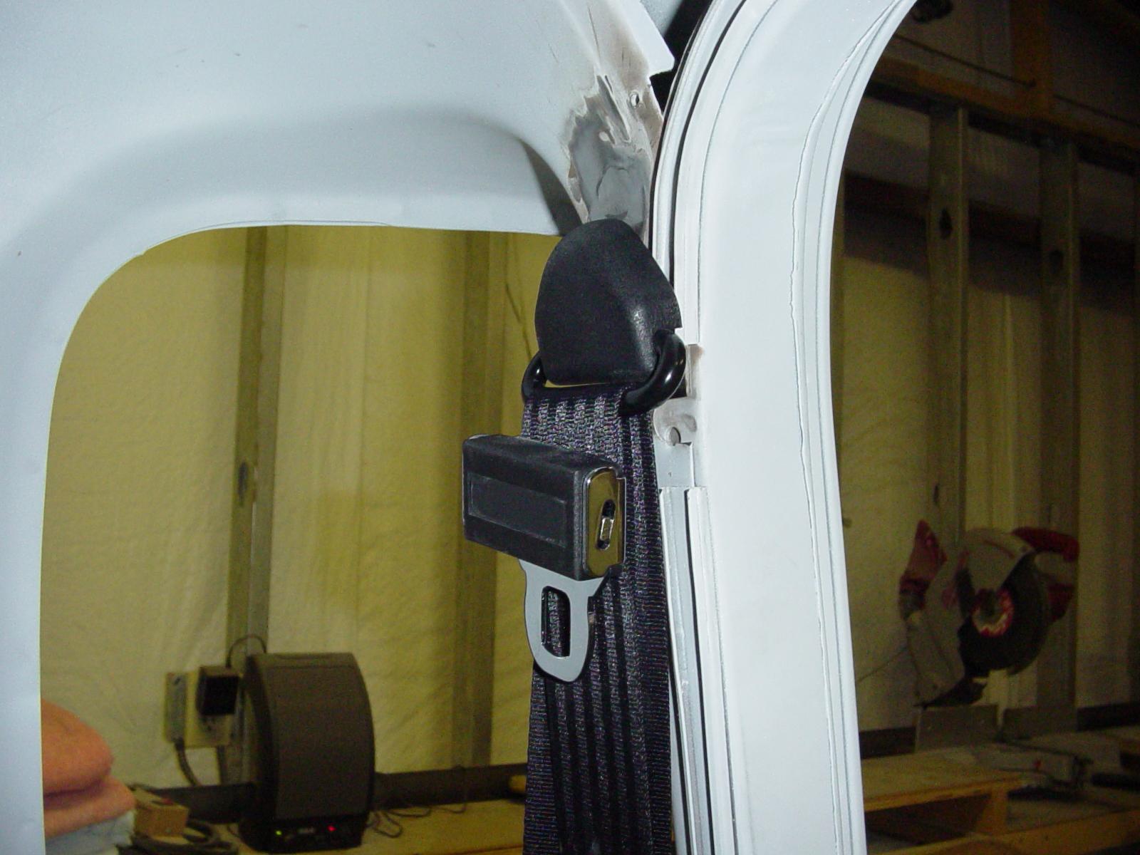 Advance Design 3 Point Seat Belt Installation