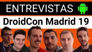 Entrevistas DroidCon Madrid 2019